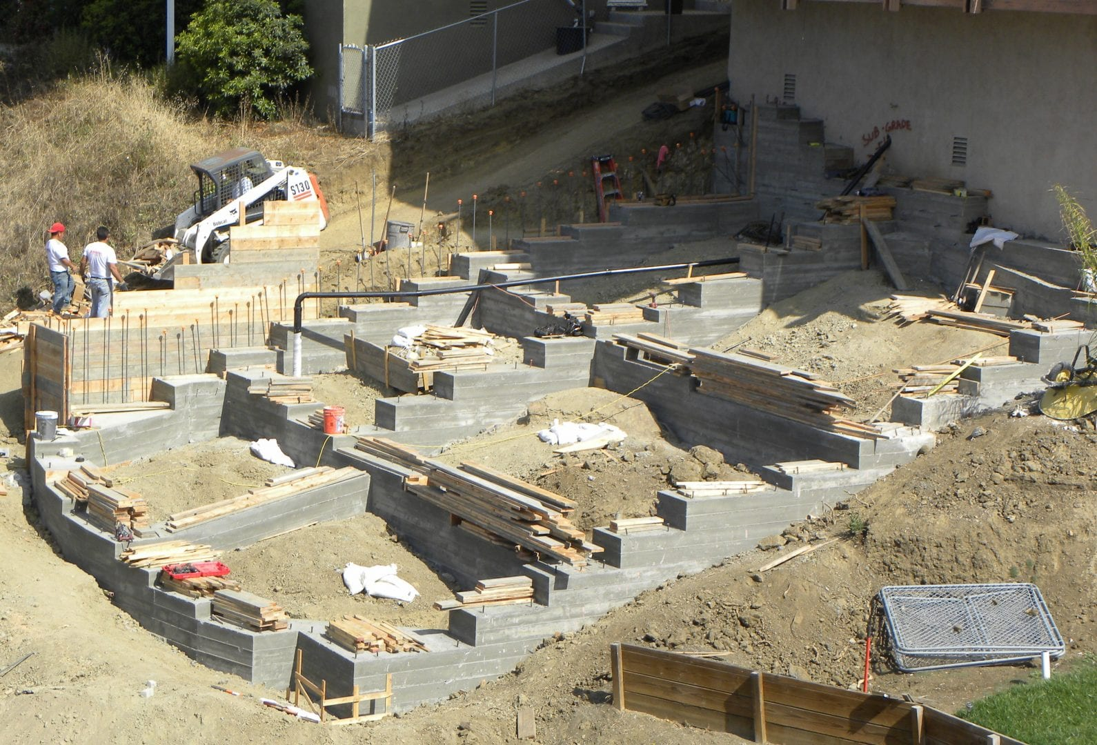 Hillside Foundation Systems Strucco Engineering Construction