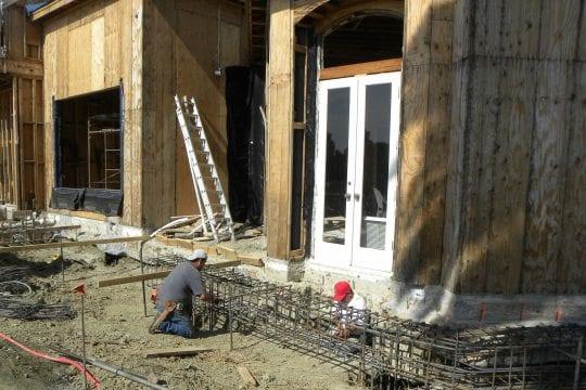 Caisson Grade Beam Foundation Reinforcement